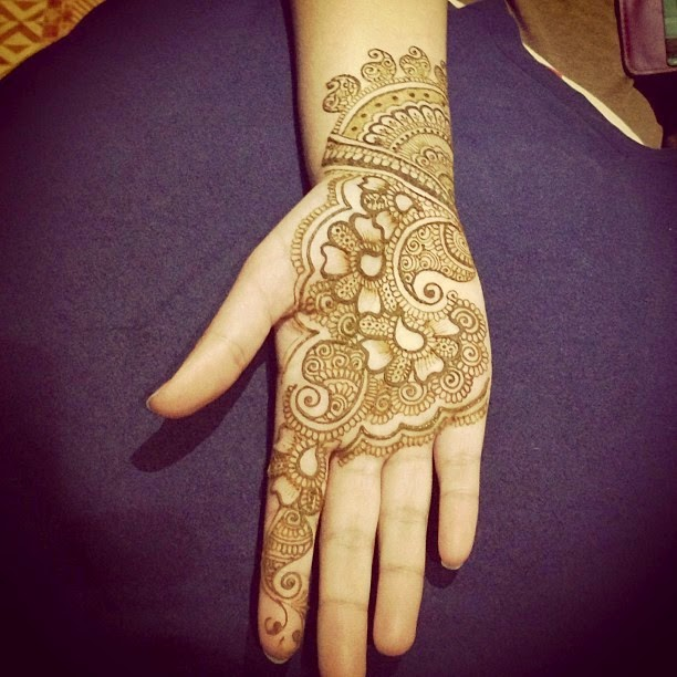 Designs of mehndi 2014 for eid on foot simple dresses on hands on facebook arabic style for for Simple arabic mehndi designs for beginners home