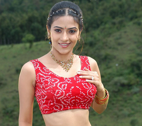 aditi sharma in blouse without saree hot photoshoot
