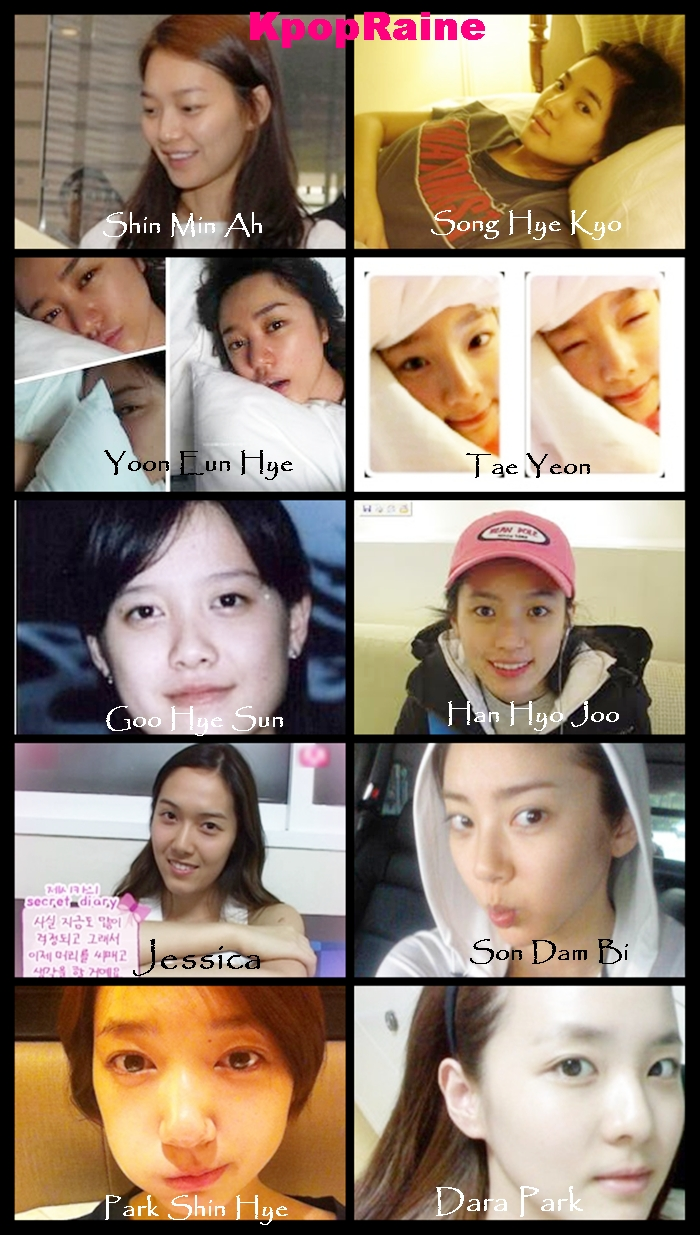 ���������������������� korean artist without makeup part 1