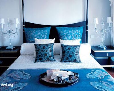 """Blue Paint"" Interior Designs Bedroom"