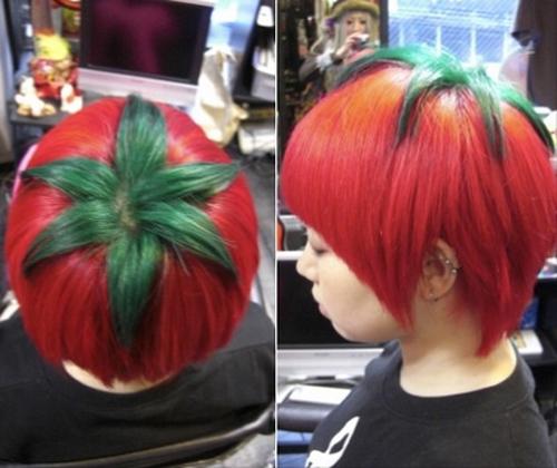"Fesyen ""Kanjuku Tomato"" atau Tomato Ranum (Ripe Tomato)"