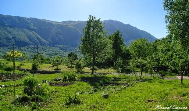 Sant'Eufemia a Majella, orto botanico