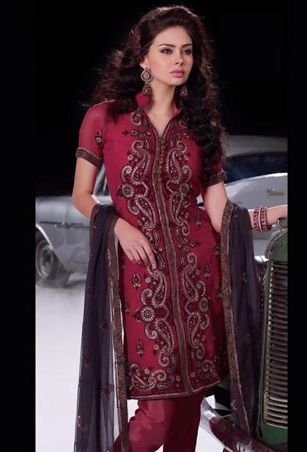 Shalwaar kameez designs 2012