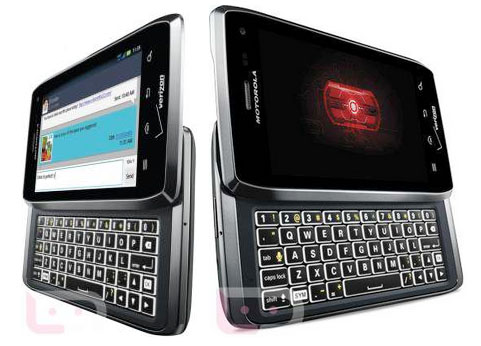 Official DROID 4 Specs, It's Definitely a Big RAZR With a Keyboard and 4G LTE, DROID 4 vs. DROID RAZR – The Evolution of DROID, Specs, and Official Pictures