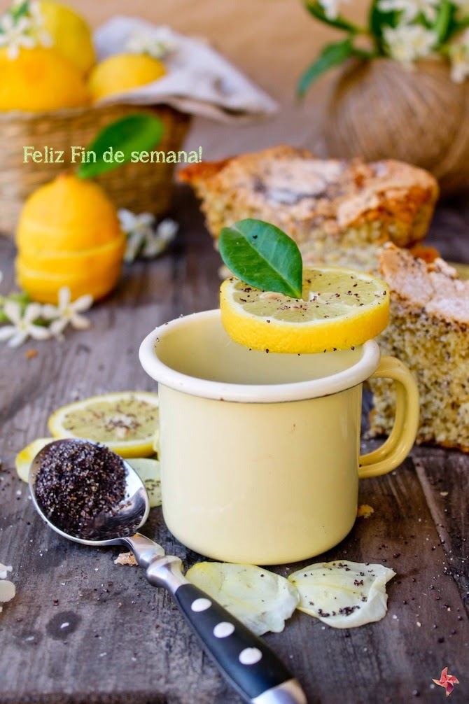 Receta bizcocho rápido de limón