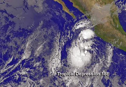 TROPICAL DEPRESSION 18-E