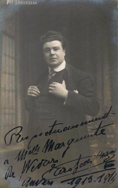 TROSSELLI / MORLET / ALBERS FAUST 1912 CONDUCTOR EMILE ARCHAINBAUD