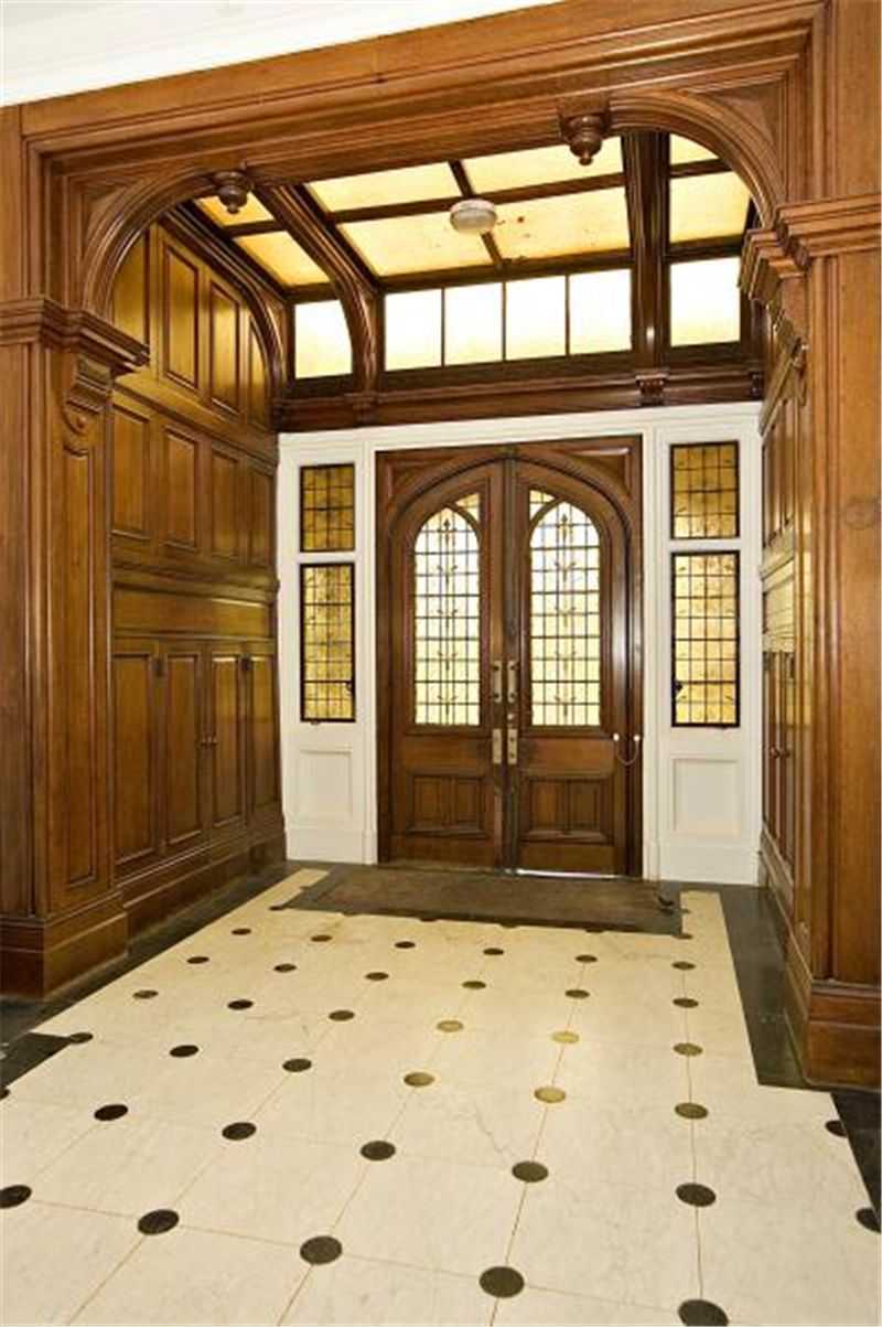 Old world gothic and victorian interior design victorian gothic - Victorian Style Interior Glam Office Old World Gothic Manor Foyer
