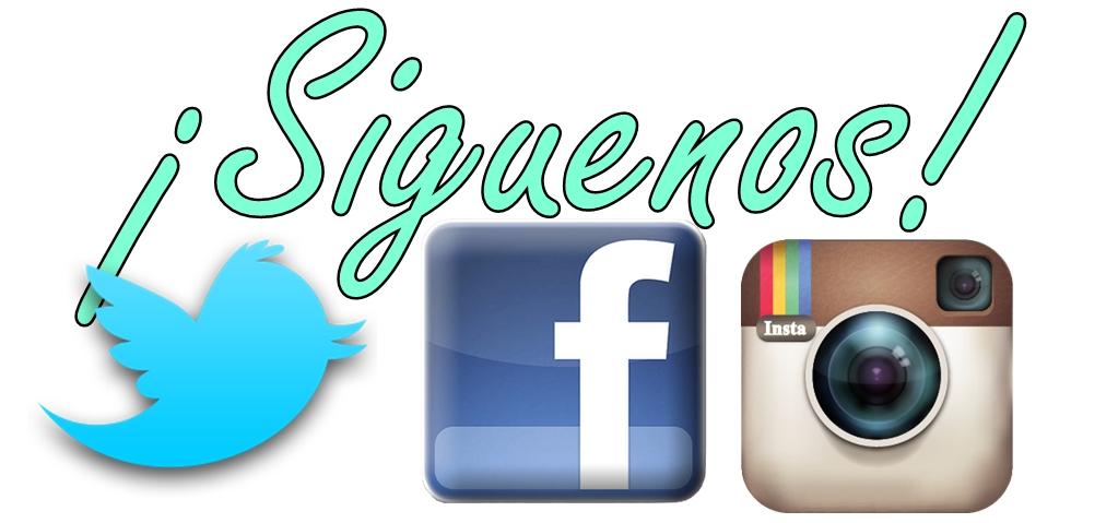 ¡Búscanos en nuestras redes sociales!