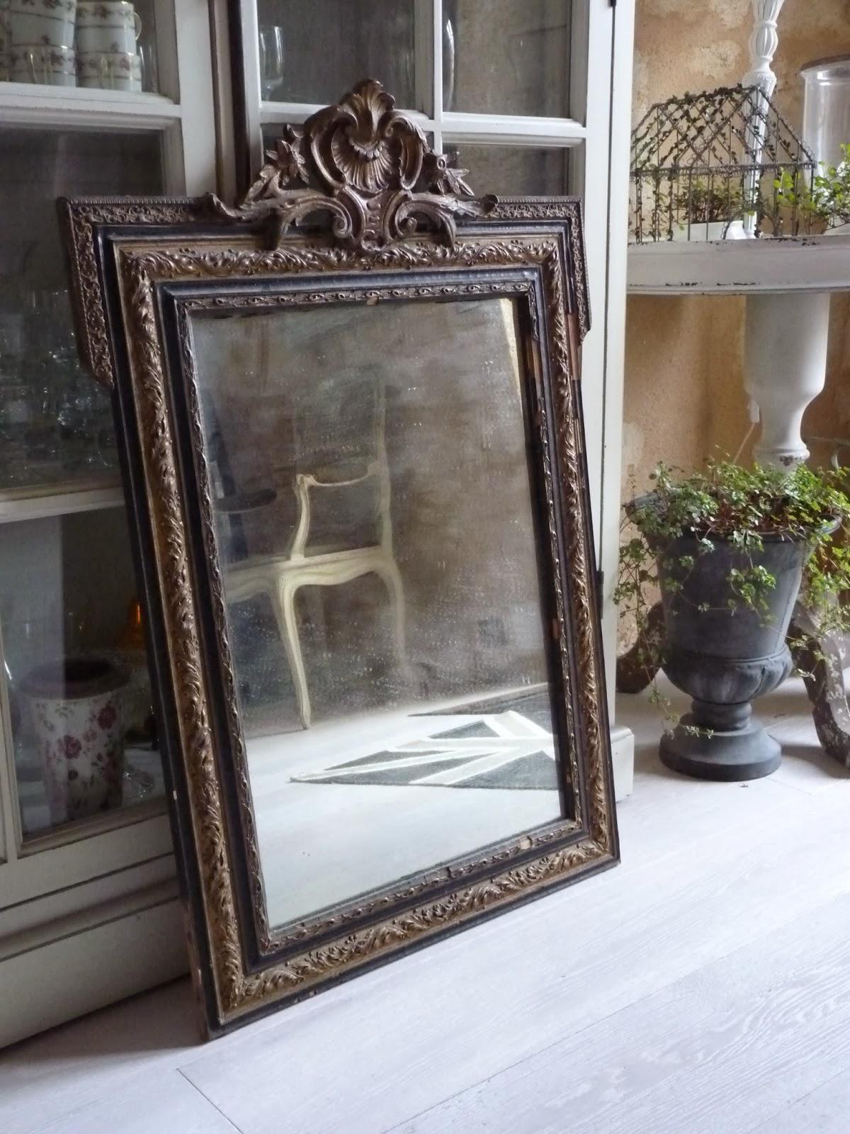 Mitt franska lantliv: Ny-gammal spegel...