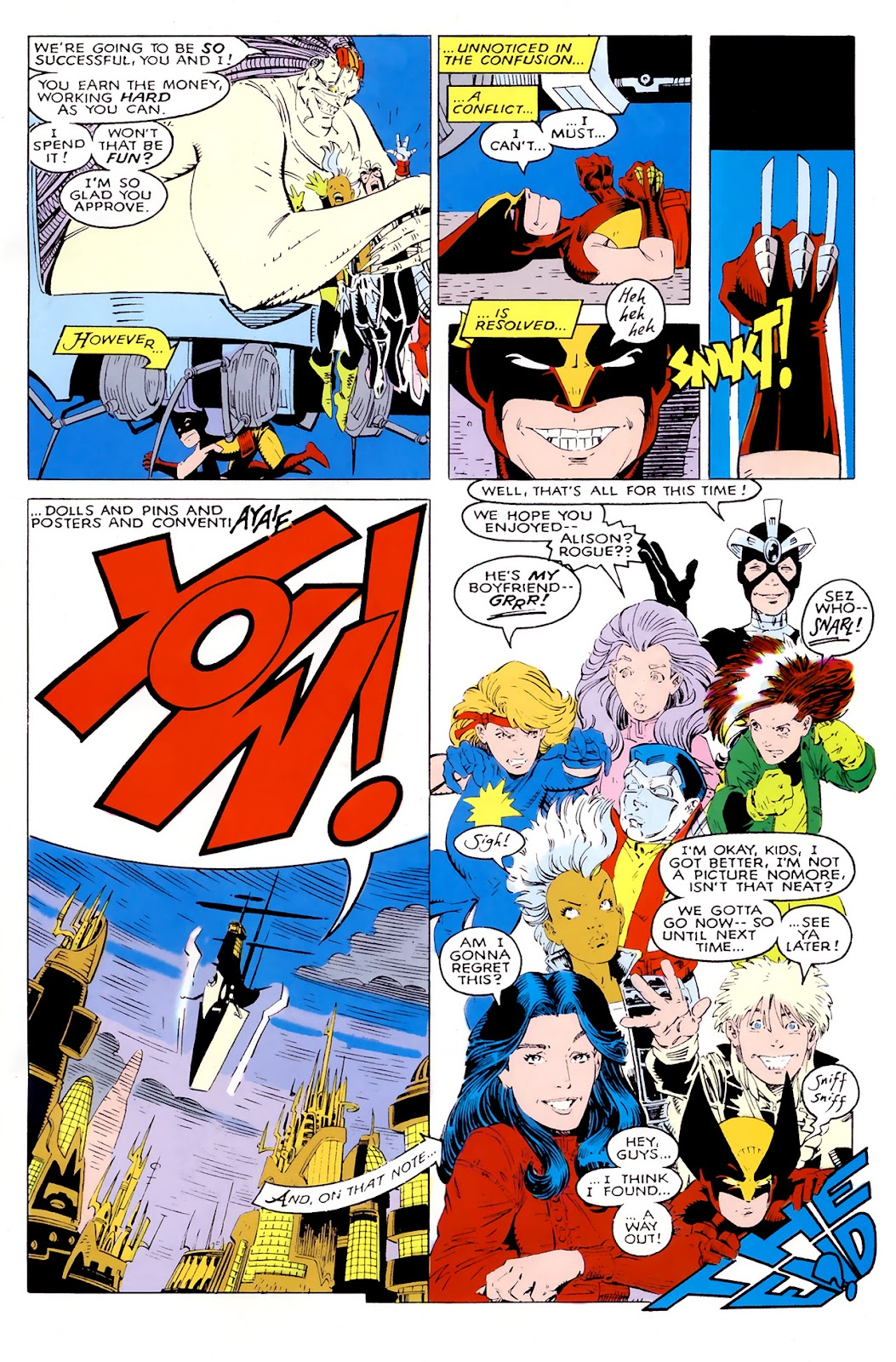 Read online X-Babies comic -  Issue #1 - 38