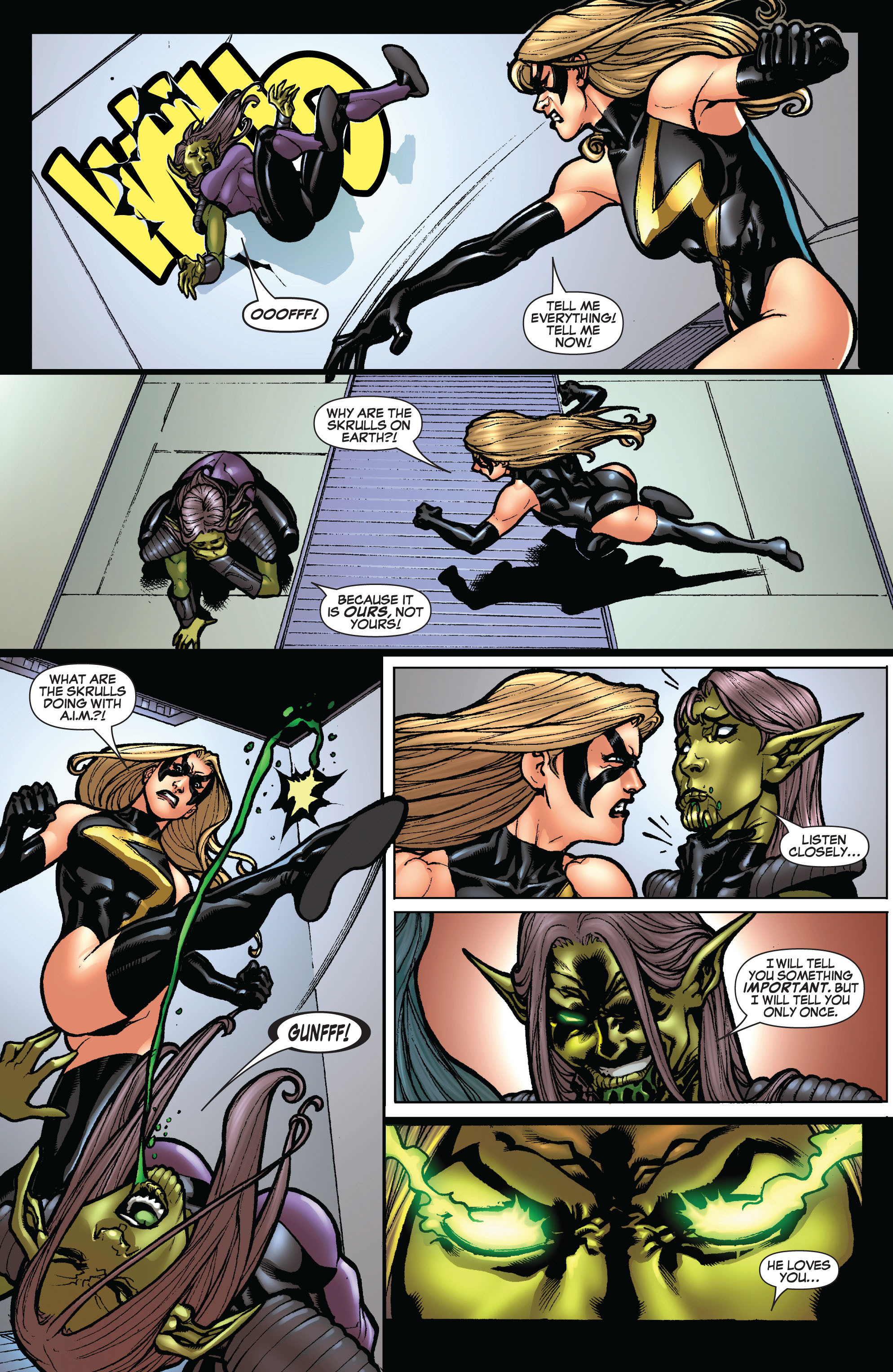 Read online Secret Invasion: The Infiltration comic -  Issue #10 - 12