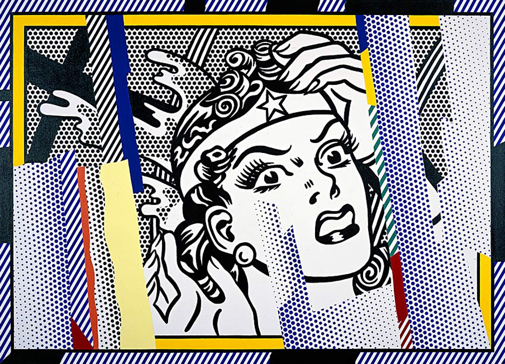 Solitary dog sculptor i painter lichtenstein roy 80 39 s - Pop art roy lichtenstein obras ...