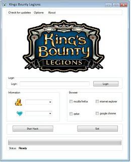 King's Bounty: Legions Cheats and Hack v.2.01