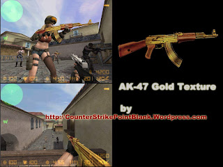 Gold AK47 texture
