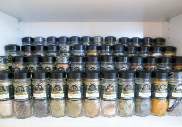 the partiologist spice jar labels
