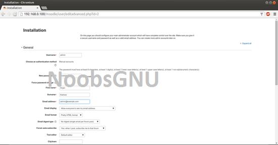 Cara Install Moodle Di Ubuntu