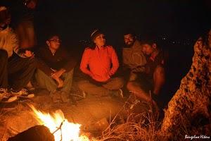 Camp fire Makalidurga hill top