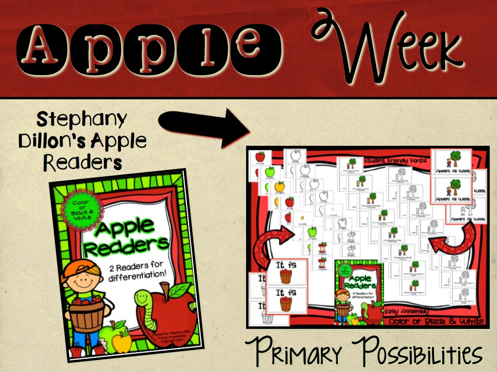 http://www.teacherspayteachers.com/Product/Apple-Themed-Readers-884188