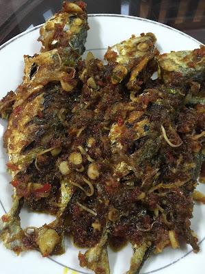 mudahnya memasak ikan goreng cili, resepi mudah, ikan goreng cili