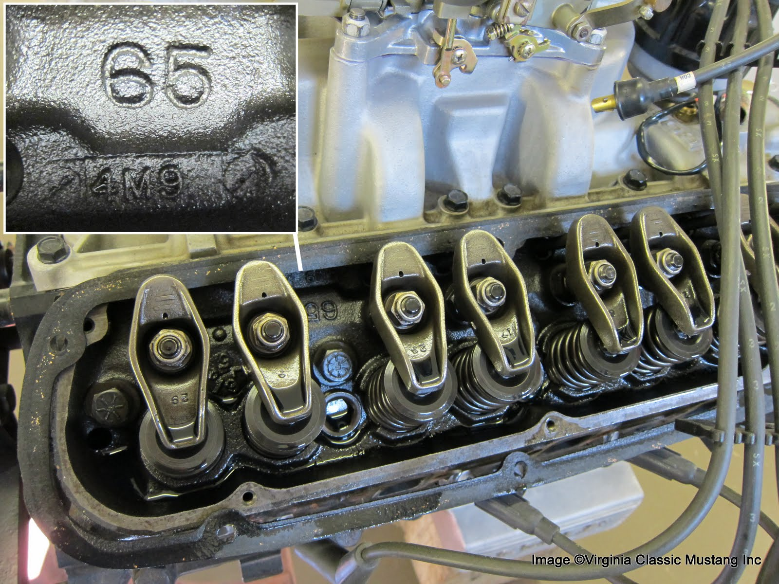 virginia classic mustang blog just the details 289 engine date cylinder heads also have casting dates these typically precede the engine casting date the 4m9 decodes as 9 1964 virginiaclassicmustang com