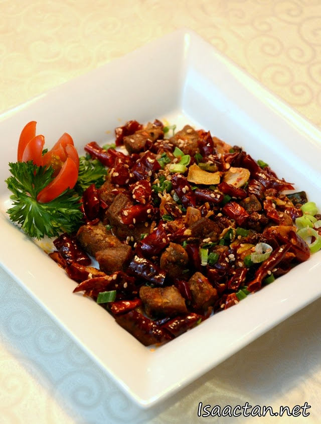 Wok fried with Si Chuan Spicy Chili