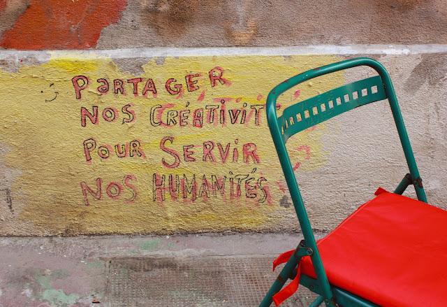 Partager nos creativites pour servir nos humanites - foto di Elisa Chisana Hoshi