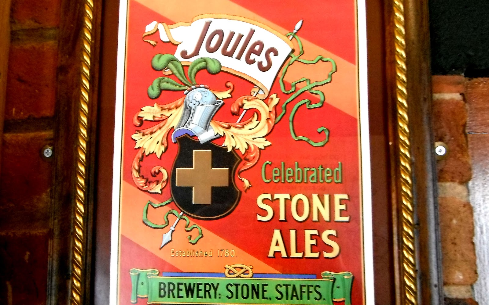 Vintage poster for Joules Ales
