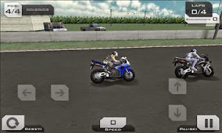Screenshots of the MotoGp 3D Super Bike Racing for Android tablet, phone.