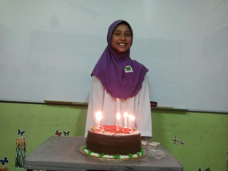 birthday Sakinah 10 yrs