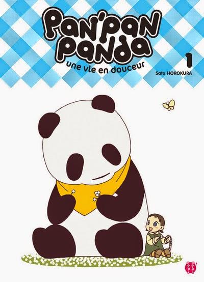 Pan' Pan Panda - Une vie en douceur Vol.1 & 2 - Sato Horokura