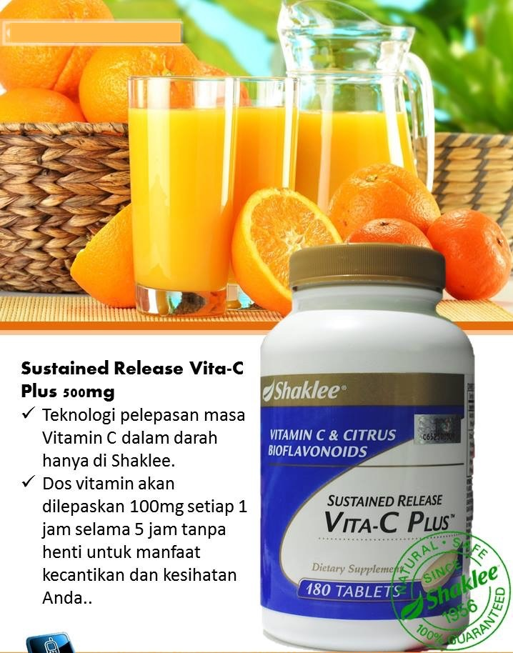 Sustained Release Vita -C