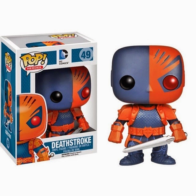 Previews Exclusive Deathstroke DC Comics Pop! Vinyl Figure by Funko