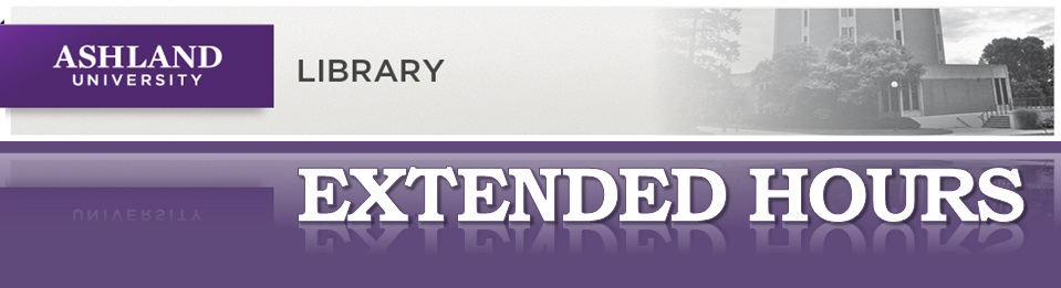 AU Library Extended Hours