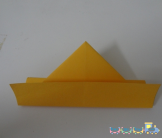 How To Fold A Paper Boat 4