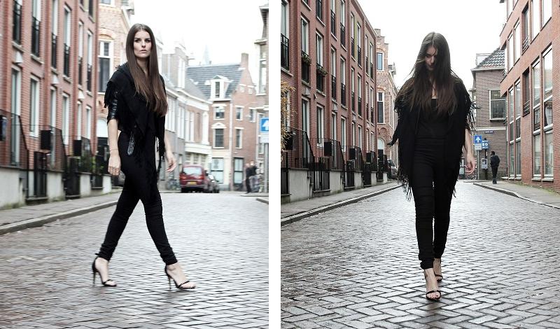 Leather Jacket H&m | Black Top
