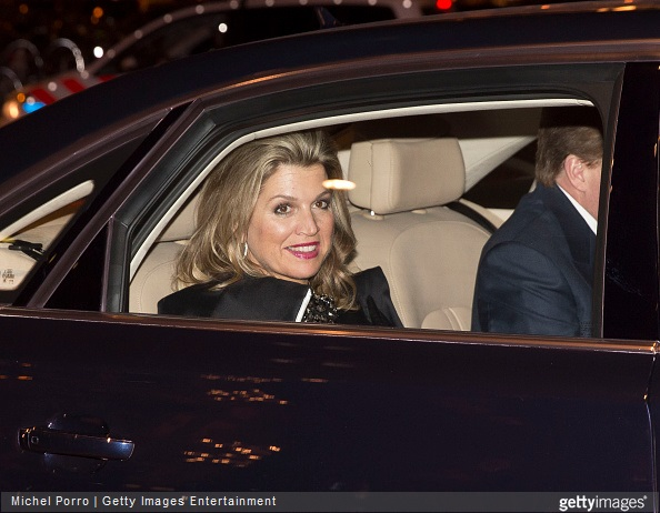 Queen Maxima of The Netherlands and King Willem-Alexander of The Netherlands attends the final concert by conductor Mariss Jansons with the Royal Concertgebouw Orchestra