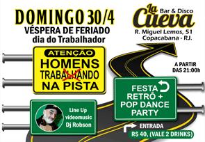 DOMINGO - 30/04 - 21h
