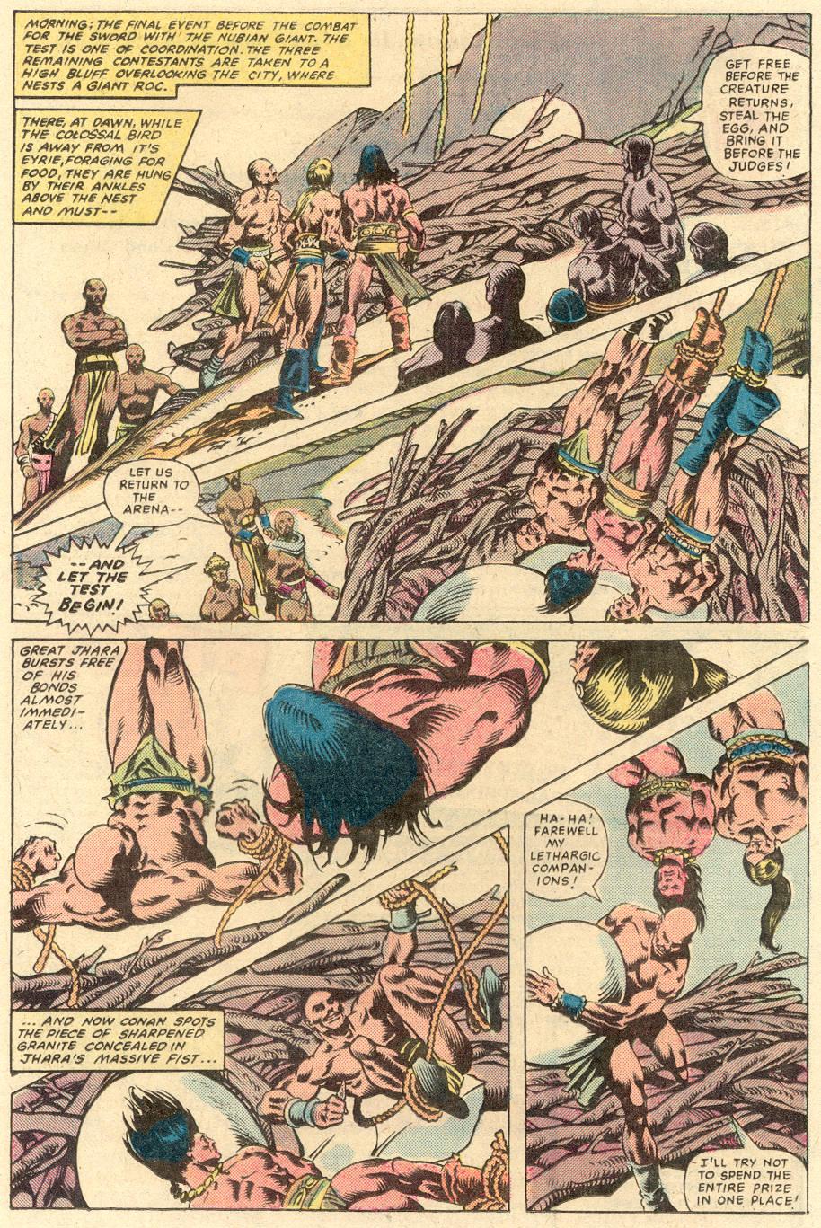Conan the Barbarian (1970) Issue #132 #144 - English 18