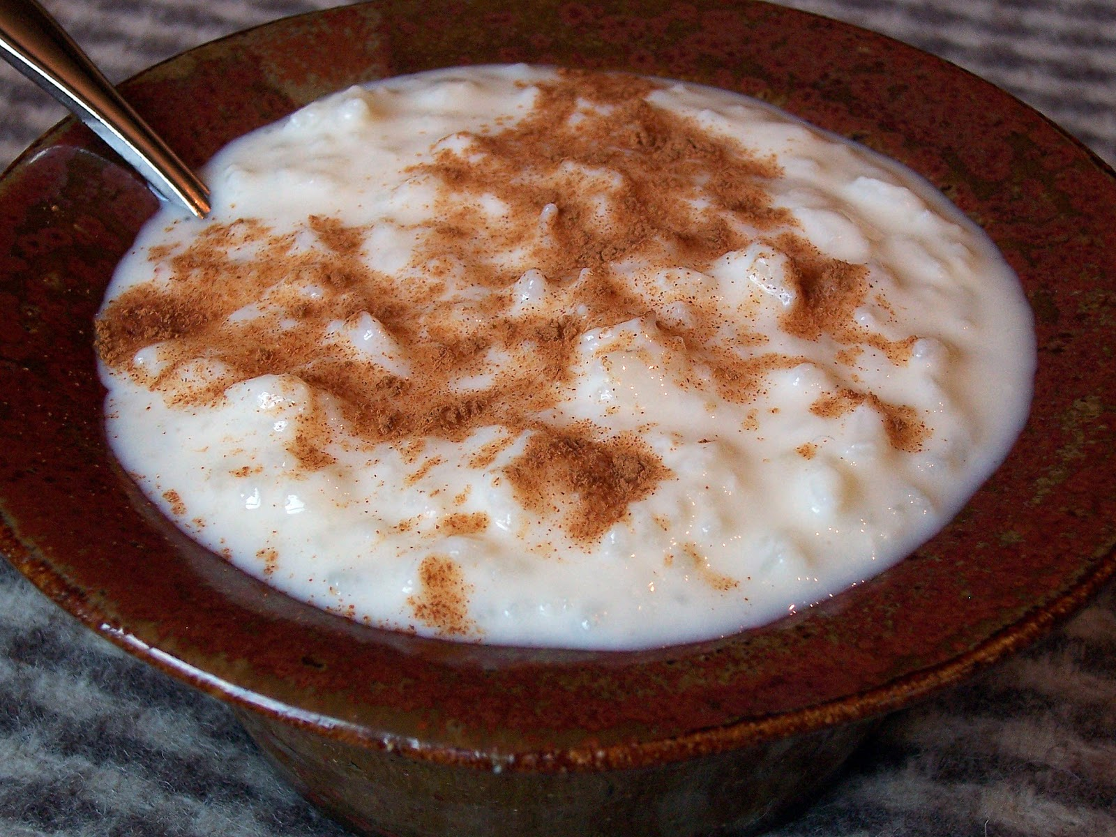 Three Sheep Studio: Creamy Rice Pudding...