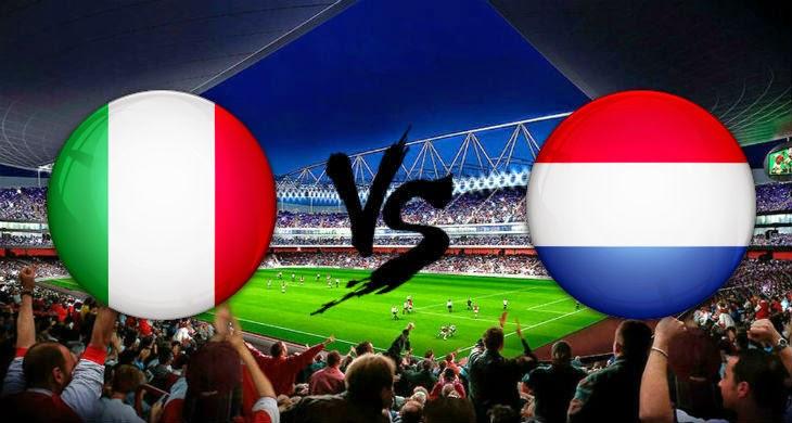 Prediksi Bola Italia vs Belanda 5 September 2014