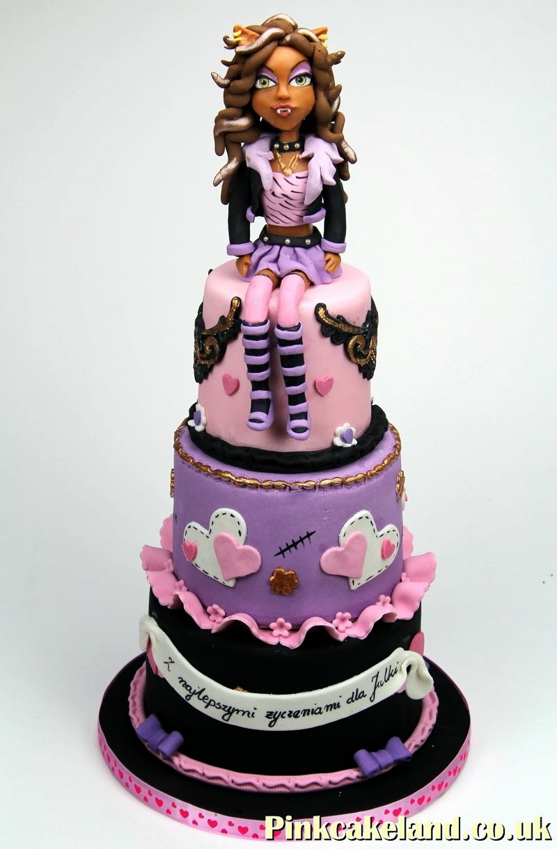 Monster High Cake, London