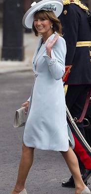 Mãe de Kate impecável!