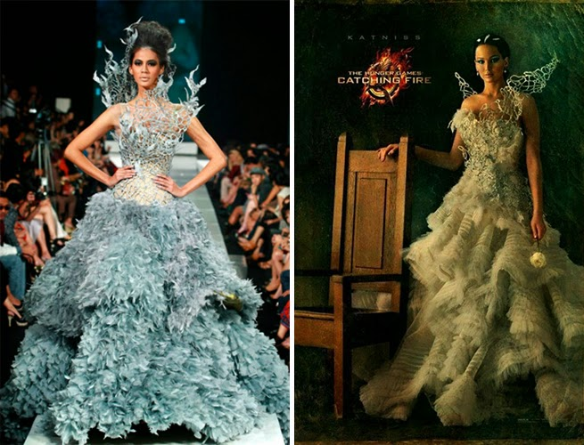 Katniss Wedding Dress After