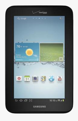 4G LTE Samsung Galaxy Tab 2.0