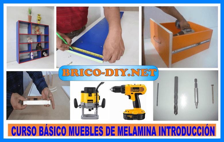 Curso melamina y muebles tutor al b sico introducci n for Donde aprender hacer muebles melamina
