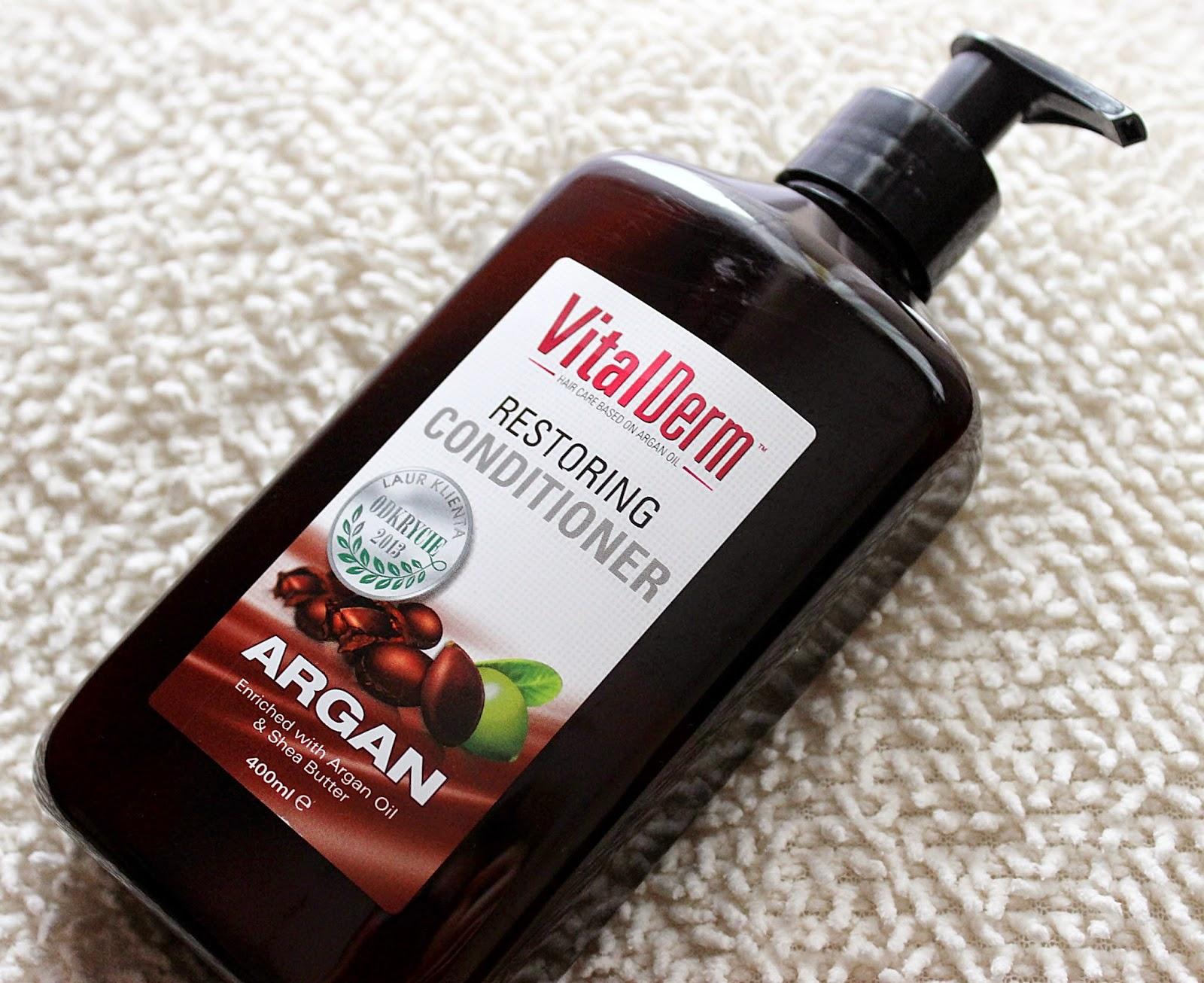 Cosmatrade, VitalDerm Hair Care, Odbudowująca odżywka do włosów z olejem arganowym
