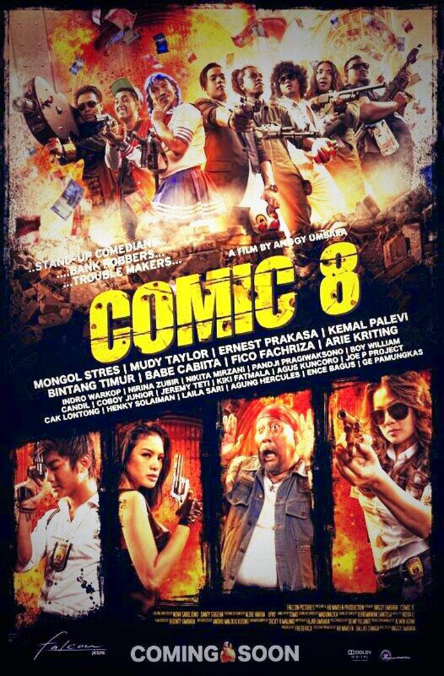 Comic 8 (2014) Full Version