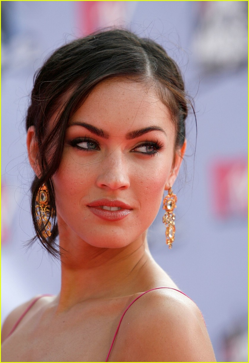 Megan Fox Sensual Smile