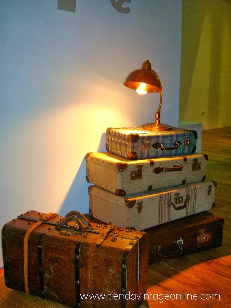 decorar con maletas vintage bodas